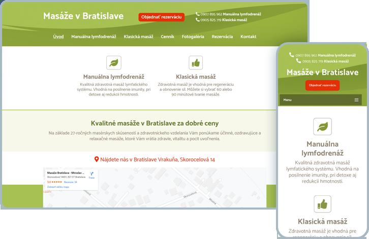 Masáže v Bratislave